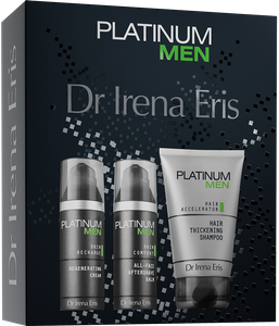 Dr Irena Eris Zestaw PLATINUM MEN 125 ml + 50 ml + 50 ml