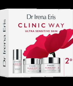 Dr Irena Eris CLINIC WAY 2° Set 50 ml + 50 ml + 15 ml